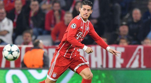James Rodriguez (FC Bayern München) - Bildquelle: 2017 Getty Images