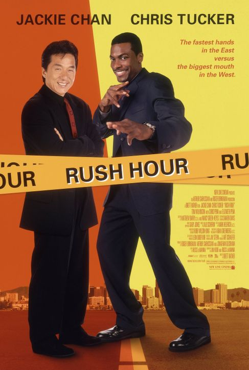 Rush Hour - Plakatmotiv - Bildquelle: Warner Bros.