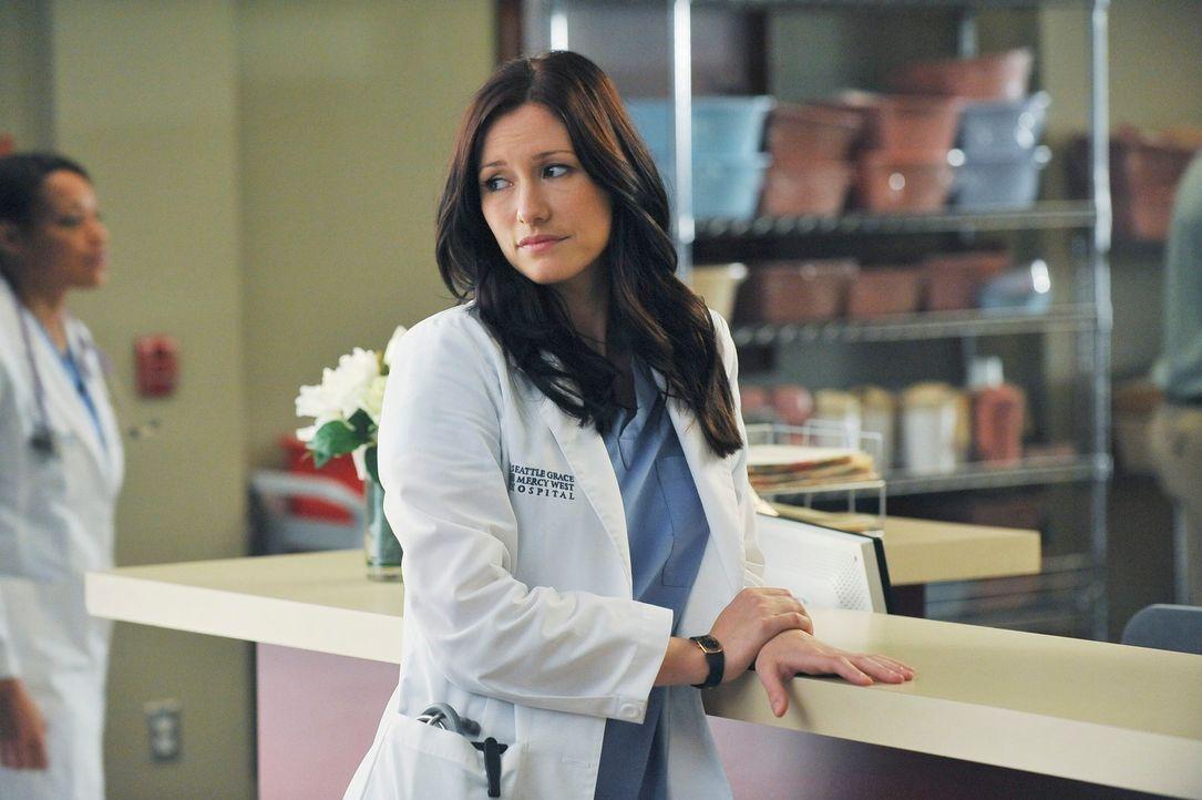 Zeigt Mark die kalte Schulter, zu sehr hat sie die Nachricht von Callies Baby getroffen: Lexie (Chyler Leigh) ... - Bildquelle: ABC Studios