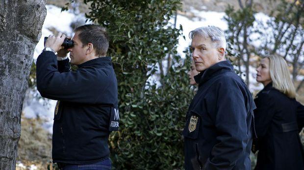Das Team, darunter Special Agent Anthony DiNozzo (Michael Weatherly, l.) und...