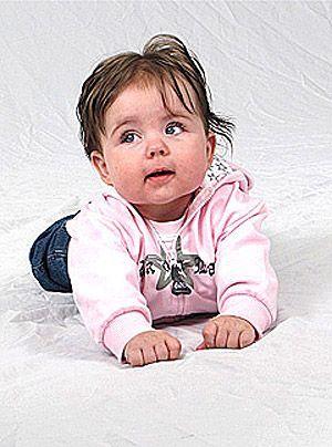 Melanies Tochter Charlotte - Bildquelle: Sat1