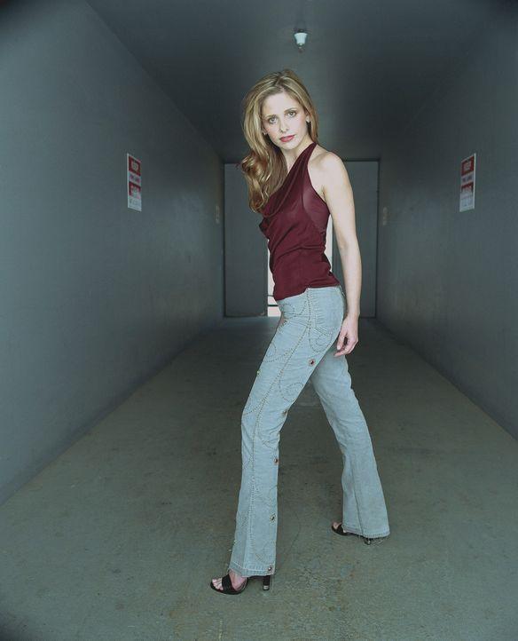 (7. Staffel) – Buffy (Sarah Michelle Gellar) hat eine sehr enge Bindung zu ihrer Mutter und ihrer Schwester Dawn. Als ihre Mutter stirbt, übernimmt... - Bildquelle: TM +   Twentieth Century Fox Film Corporation. All Rights Reserved.