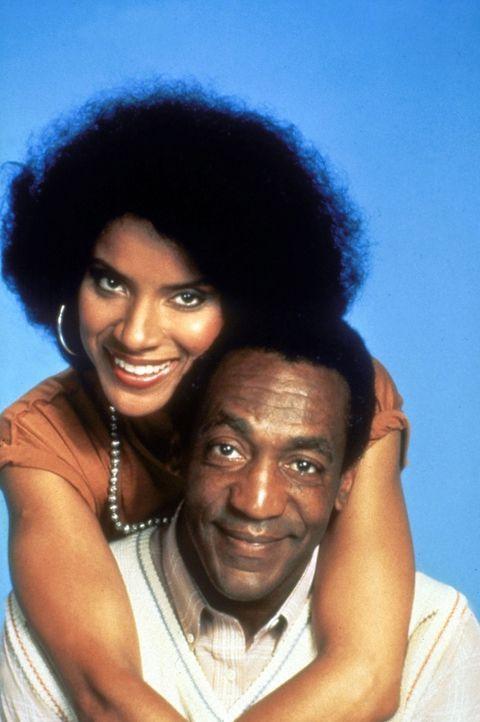 Ein Herz und eine Seele: Cliff Huxtable (Bill Cosby, unten) und Ehefrau Clair Huxtable (Phylicia Rashad). - Bildquelle: Viacom
