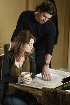 Grey's Anatomy - Die jungen Ärzte - Meredith (Ellen Pompeo, l.) wird immer no...
