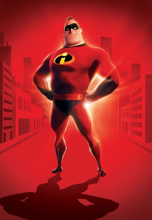 Mr. Incredible ist ein Superheld wie er im Buche steht ... - Bildquelle: Disney/Pixar. All rights reserved