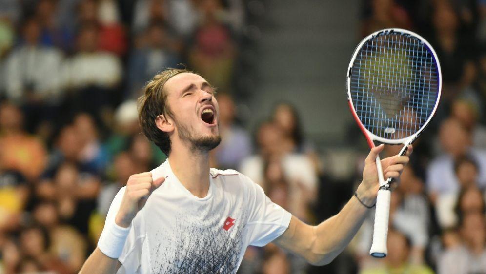 Daniil Medwedew gewinnt das ATP-Turnier in Tokio - Bildquelle: AFPSIDKAZUHIRO NOGI