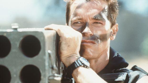 Eine südamerikanische Terrorgruppe entführt die Tochter von Matrix (Arnold Sc...
