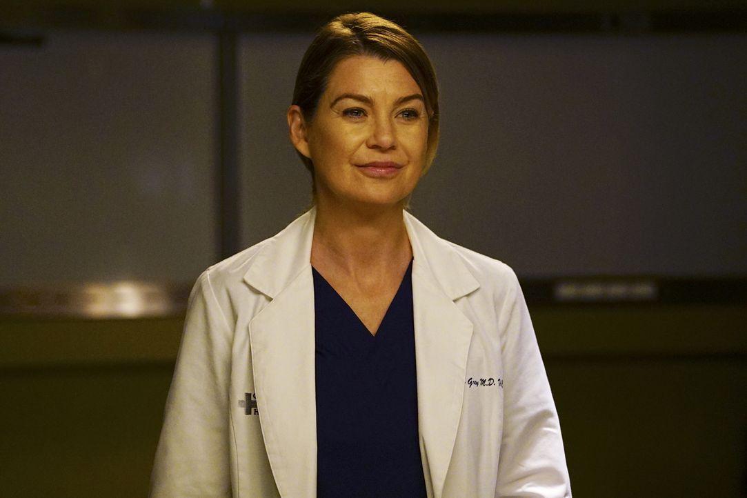 Es könnte für Meredith (Ellen Pompeo) mit Nathan alles perfekt sein, wenn da nicht Maggie wäre, die sie mit ihrem Verhalten sehr verletzt hat ... - Bildquelle: 2017 American Broadcasting Companies, Inc. All rights reserved.