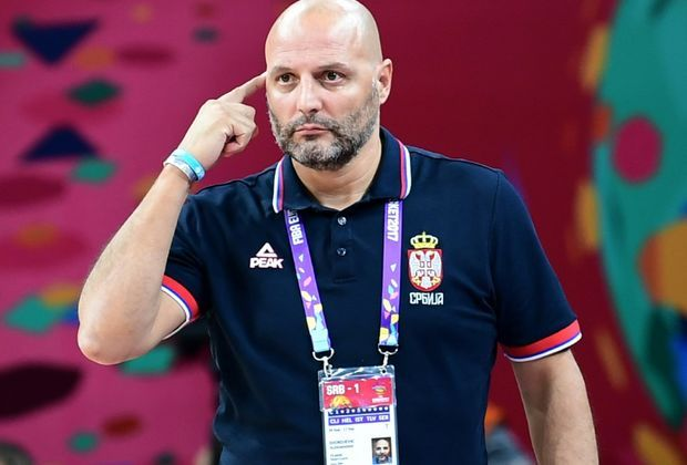 Sasa Djordjevic steht mit Serbien im Finale der EM