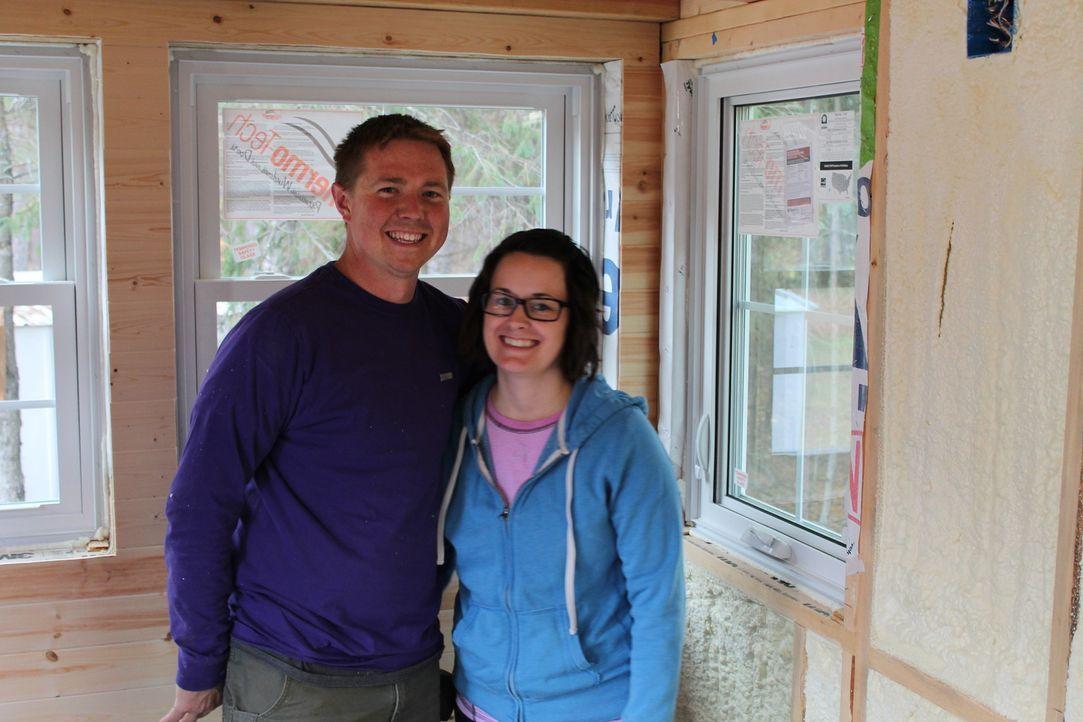 Wird das Haus wirklich genauso werden, wie es sich Zach (l.) und Caitlin Hogan (r.) immer erträumt haben? - Bildquelle: 2016, HGTV/Scripps Networks, LLC. All Rights Reserved.