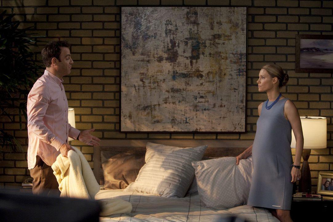 Machen sich Gedanken über die Namen ihrer noch ungeborener Kinder: Cooper (Paul Adelstein, l.) und Charlotte (KaDee Strickland, r.) ... - Bildquelle: ABC Studios