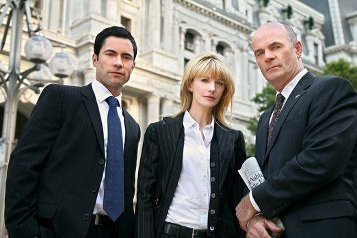 Cold Case - Ein neuer Fall wartet auf Scott (Danny Pino, l.), Lilly (Kathryn...