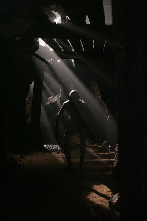 Auf der Suche nach ihrem Vater treffen Sam und Dean auf einen Wendigo (Roy Campsall) ... - Bildquelle: Warner Bros. Television