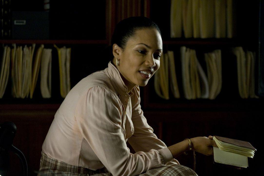 Agentin Danielle Taylor (Ingrid Rogers) sucht eine Mörderin, die ihre eigenen Leute umbringt. Bisher vergebens ... - Bildquelle: 2009 Colton Productions, Inc. All Rights Reserved.