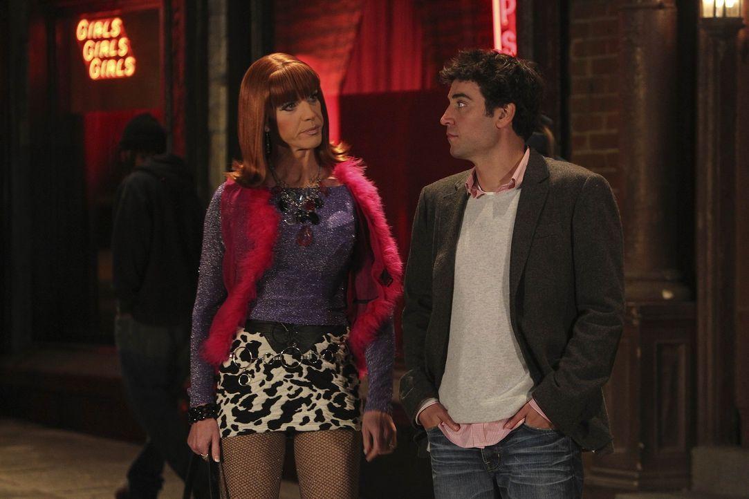 Ted (Josh Radnor, r.) bekommt ein verführerisches Angebot ... - Bildquelle: 20th Century Fox International Television