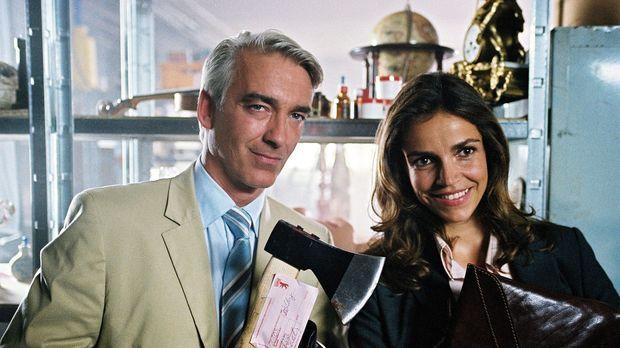 Auch Sandra (Rebecca Immanuel, r.) und Felix (Christoph M. Ohrt, l.) möchten...
