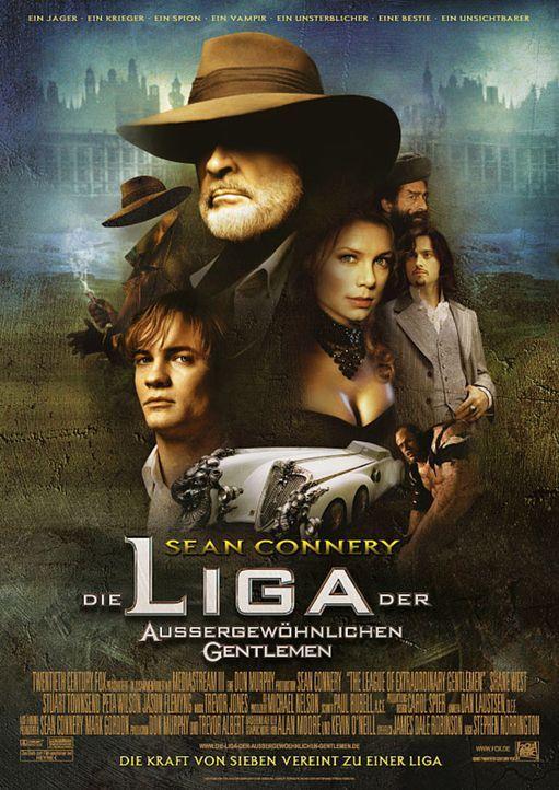 Die Liga der außergewöhnlichen Gentlemen - Plakatmotiv - Bildquelle: 20th Century Fox International
