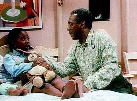 Bill Cosby Show - Cliff (Bill Cosby, r.) versucht herauszubekommen, warum Rud...