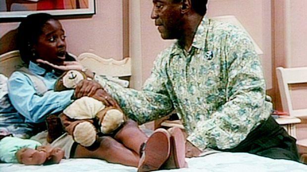 Cliff (Bill Cosby, r.) versucht herauszubekommen, warum Rudy (Keshia Knight P...