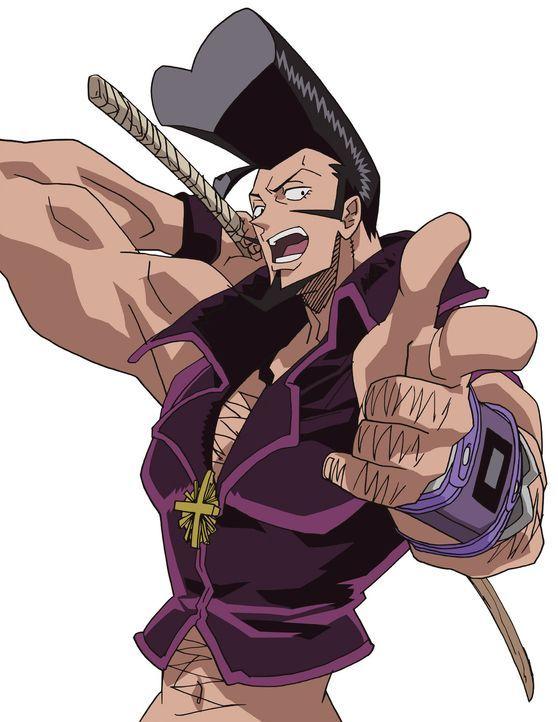 Als Anführer einer kleinen Gaunerbande macht Bokutou no Ryu (Bild) die Gegend um den Friedhof unsicher. Eines Tages jedoch macht er die Bekanntschaf... - Bildquelle: Hiroyuki Takei. All rights reserved