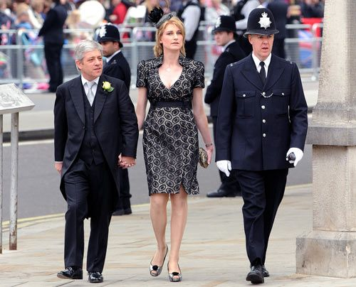 William-Kate-Westminster-Abbey-John-Bercow-Speaker-Sally-11-04-29-500_404_AFP - Bildquelle: AFP