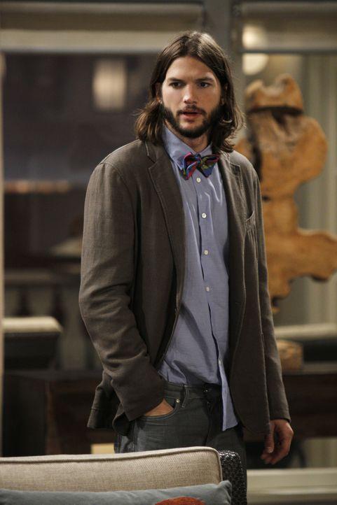 Nach und nach erkennt Walden (Ashton Kutcher), dass er in Alan einen echten Freund hat ... - Bildquelle: Warner Brothers Entertainment Inc.