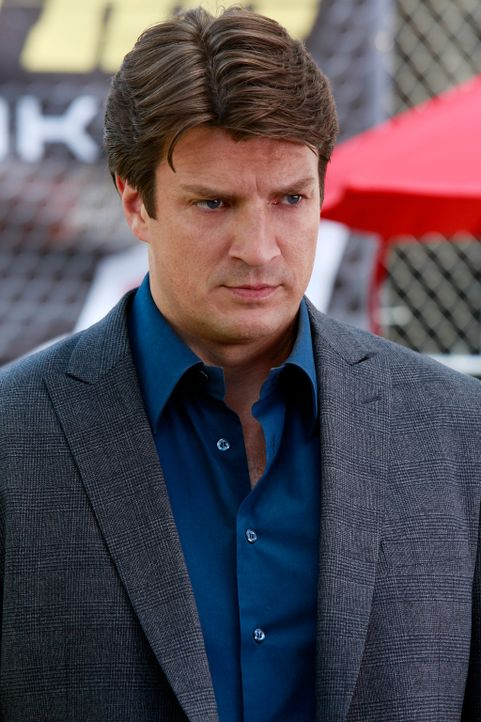 Ermittelt in einem Fall, der ihn mit der abenteuerlichen Welt der Extremsportarten in Kontakt bringt: Richard Castle (Nathan Fillion) ... - Bildquelle: 2014 American Broadcasting Companies, Inc. All rights reserved.