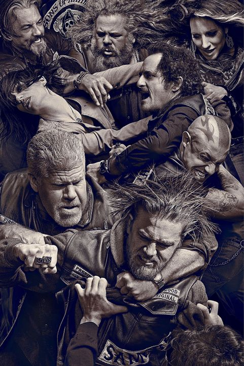 (6. Staffel) - SONS OF ANARCHY - Artwork - Bildquelle: 2013 Twentieth Century Fox Film Corporation and Bluebush Productions, LLC. All rights reserved.