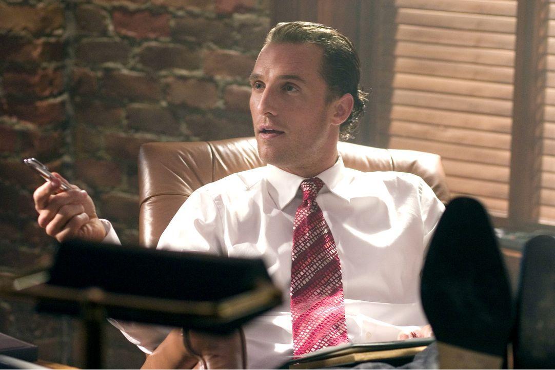 Zwischen Brendon (Matthew McConaughey) und seinem Chef entbrennt ein Millionen schwerer Kampf ... - Bildquelle: Morgan Creek Productions