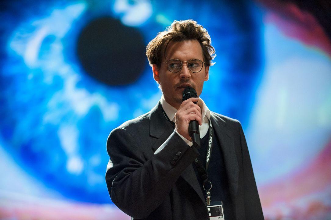 Dr. Will Caster (Johnny Depp) ist der führende Forscher im Bereich künstlicher Intelligenz. Mit seinem Team hat er Prozesse entwickelt, die es ermög... - Bildquelle: Peter Mountain 2013 Alcon Entertainment, LLC. All Rights Reserved