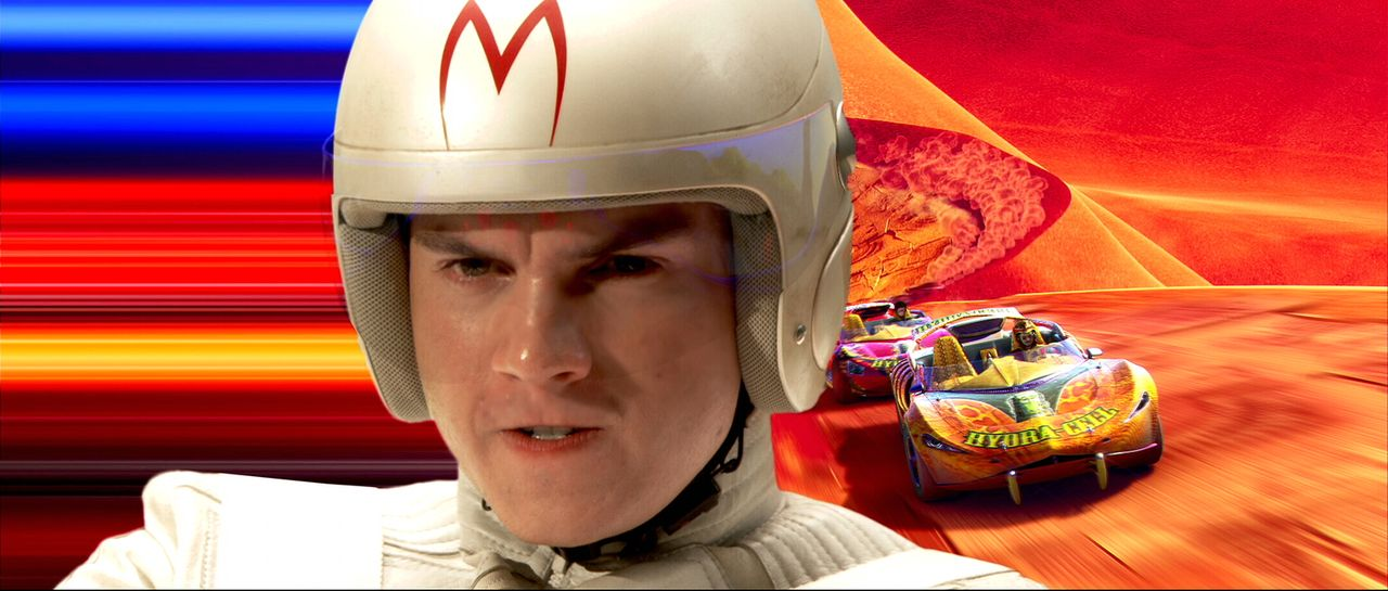 Benzin im Blut: Speed Racer (Emile Hirsch) ...