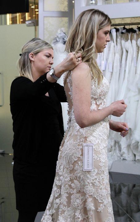 Rachel hat genaue Vorstellungen von ihrem Hochzeitskleid und möchte es schli... - Bildquelle: TLC & Discovery Communications