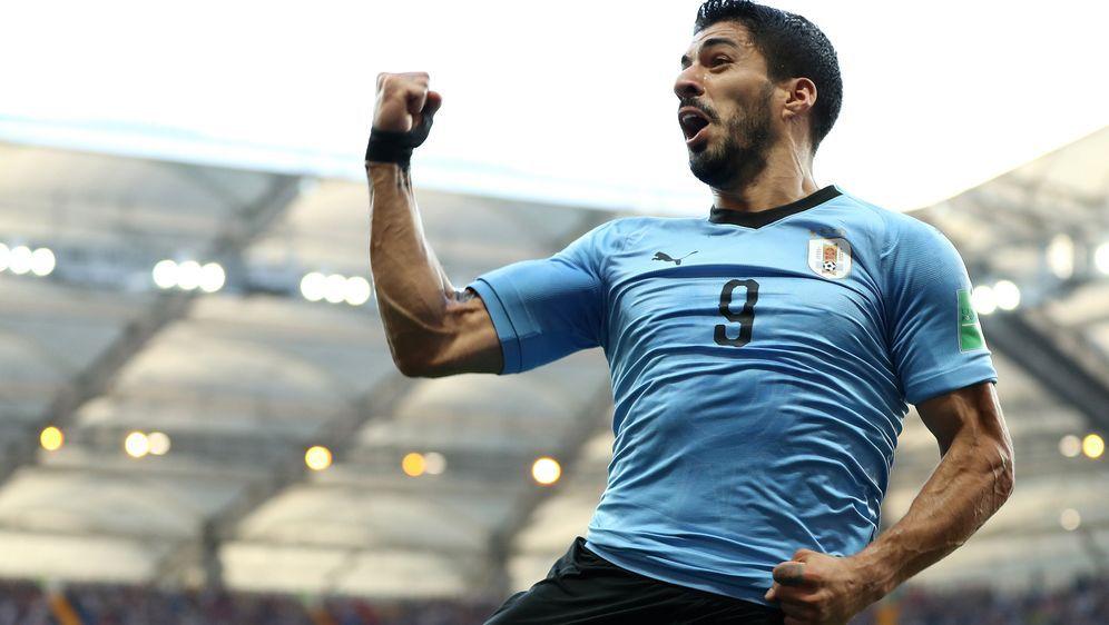 Schlägt Luis Suarez auch gegen Gastgeber Russland zu? - Bildquelle: 2018 Getty Images