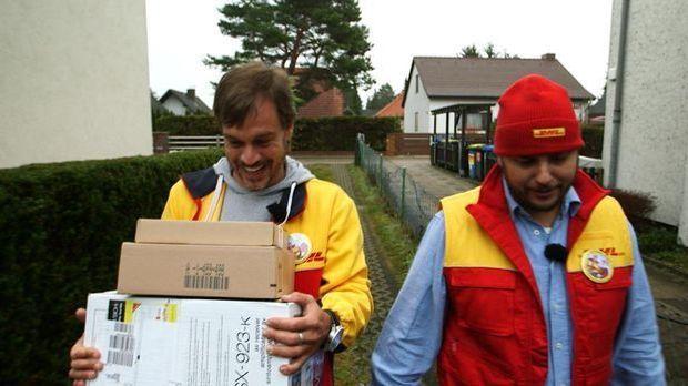 Harro macht mit Paketdienst