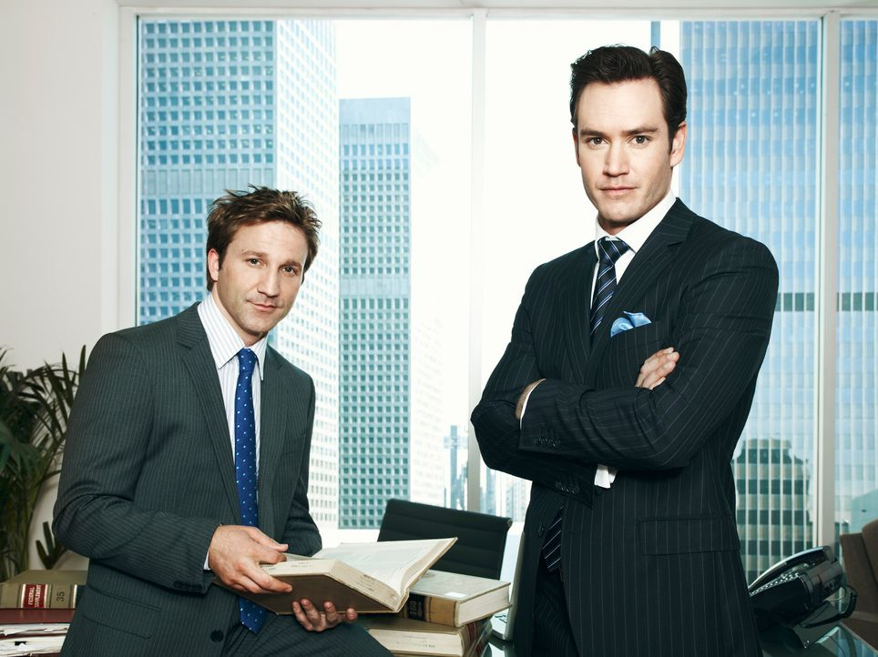 Peter Bash und Jared Franklin in Staffel 1 - Bildquelle: Sony Pictures Television Inc.