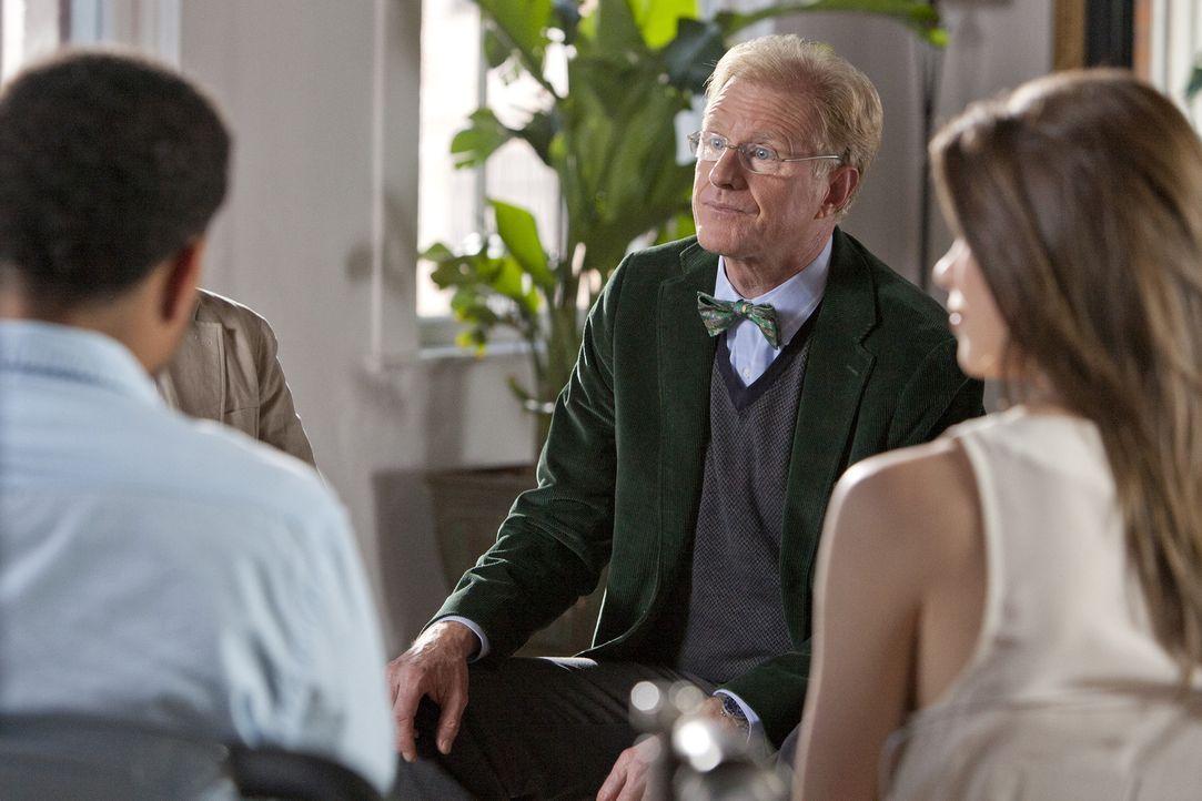 Travis und Wes kommen mit ihrem neuen Therapeuten Dr. Van Waal (Ed Begley Jr., M.) nicht zu Recht und wollen deshalb Dr. Ryan zurück ... - Bildquelle: USA Network