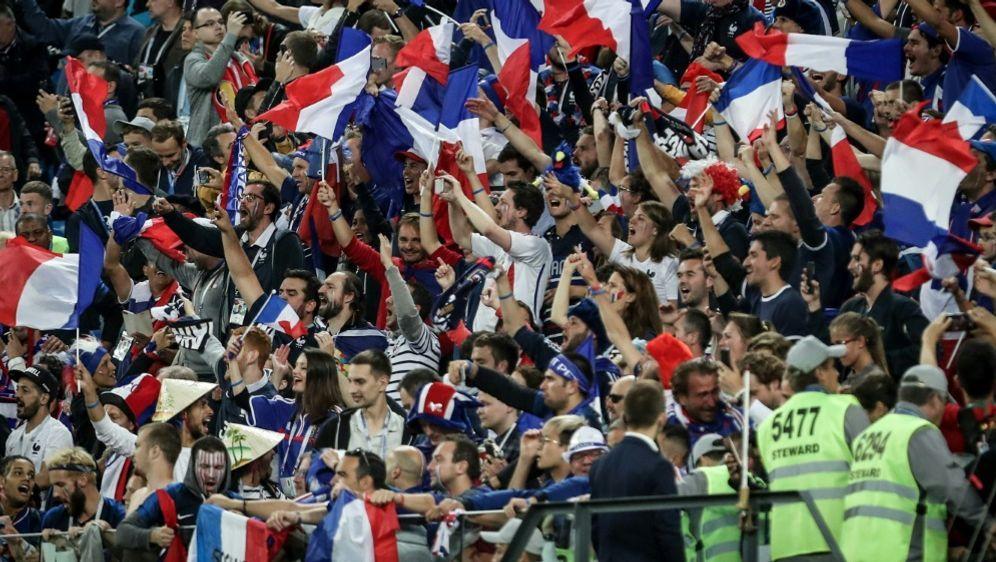 Die Franzosen hatten allen Grund zum Feiern - Bildquelle: PIXATHLONPIXATHLONSID
