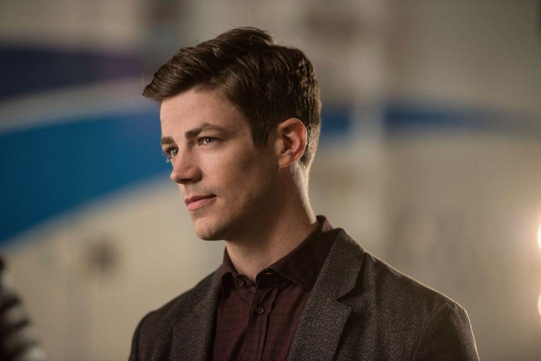 Was wird Barry (Grant Gustin) tun, als er erfährt, dass er nicht ganz unschuldig an den Angriffsplänen der Aliens ist? - Bildquelle: Warner Brothers