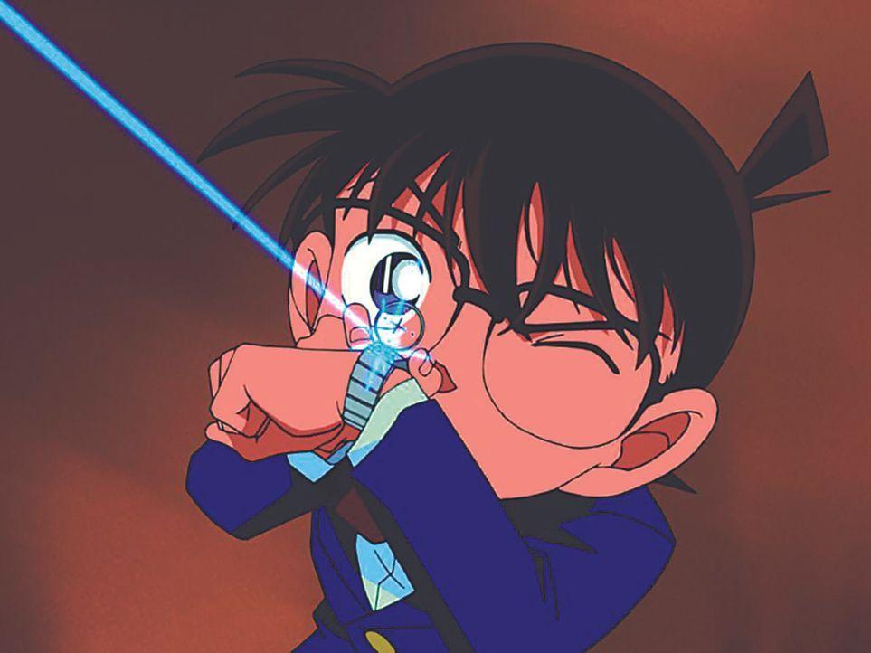 Der eigentlich 17-Jährige Shin'ichi Kudo muss nun im Körper eines Grundschülers Fälle lösen, ohne erkannt zu werden, und nennt sich ab sofort Conan... - Bildquelle: Gosho Aoyama / Shogakukan, YTV, TMS 1996