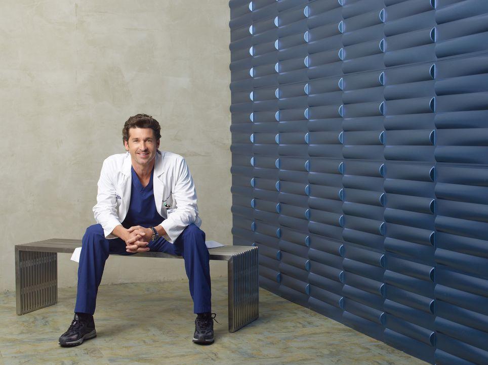 (6. Staffel) - Nicht nur beruflich, sondern auch privat läuft nicht immer alles nach Plan: Dr. Derek Shepherd (Patrick Dempsey) ... - Bildquelle: Touchstone Television