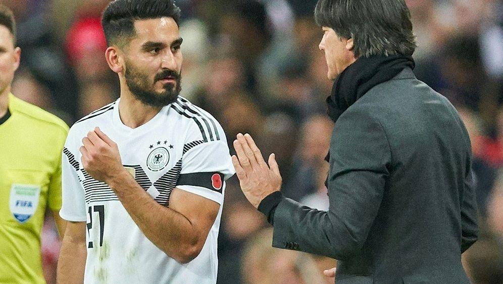 Ilkay Gündogan lobt Bundestrainer Joachim Löw - Bildquelle: PIXATHLONPIXATHLONSID