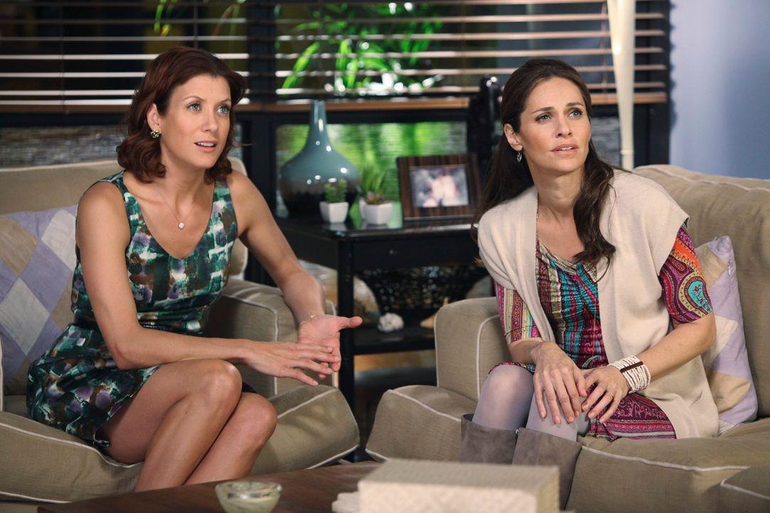 Als Naomi von Maya eine Abtreibung fordert, versuchen ihr Addison (Kate Walsh, l.) und Violet (Amy Brenneman, r.) ins Gewissen zu reden. Mit Erfolg? - Bildquelle: ABC Studios