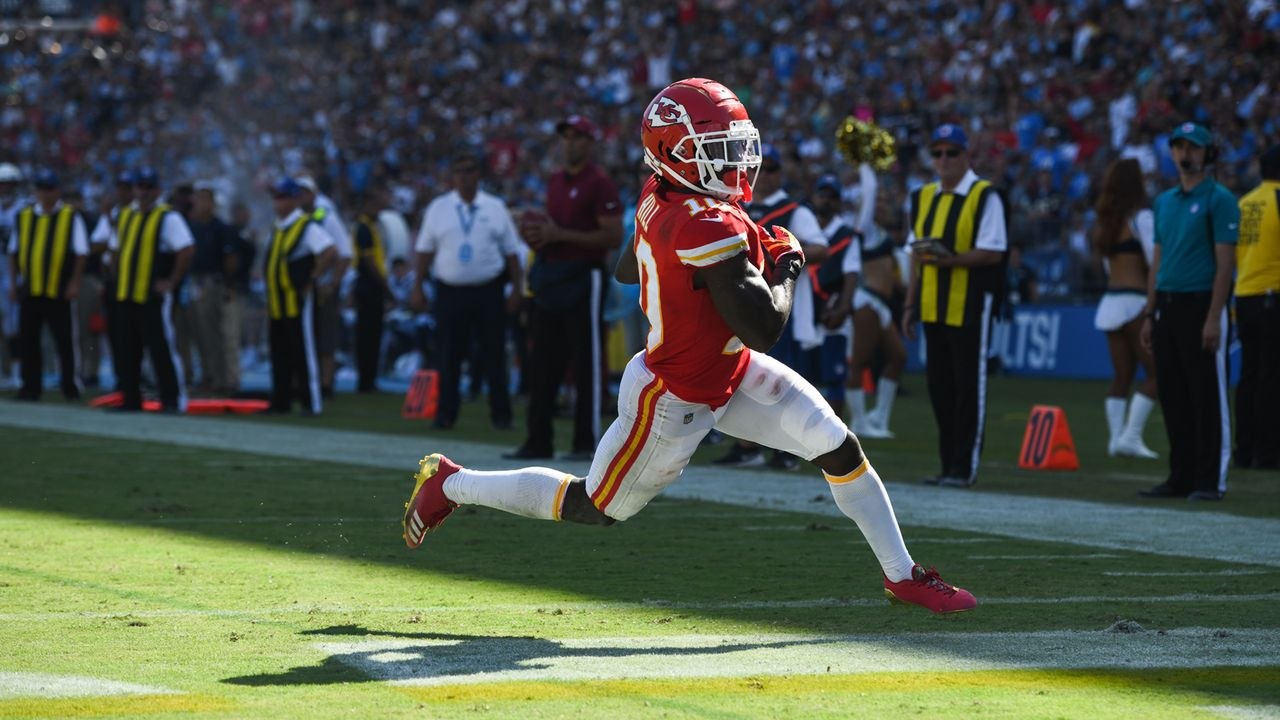 Wide Receiver: Tyreek Hill - Bildquelle: 2018 Getty Images