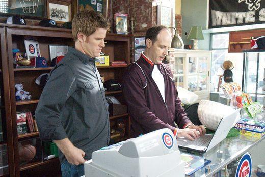 My Boys - Mike (Jamie Kaler, l.) bringt sich in Kennys (Michael Bunin, r.) La...