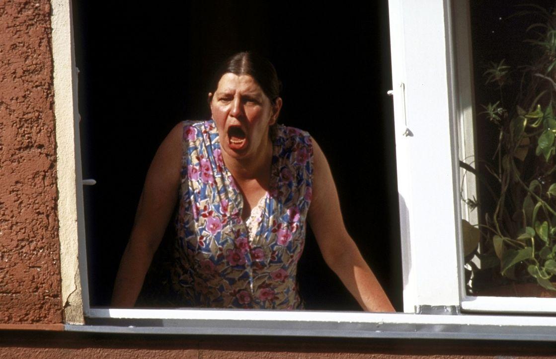 """""""Stefan! Essen ist fertig!"""" Mutter Lust (Monika Manz) ist um das Wohl ihres Sohnes sehr besorgt ... - Bildquelle: Constantin Film"""