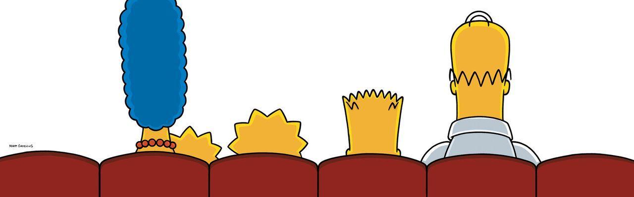 """Familienausflug ins Kino: Familie Simpson sieht sich einen """"Itchy-&-Scratchy""""-Film im Kino an. - Bildquelle: 2007 Twentieth Century Fox Film Corporation"""