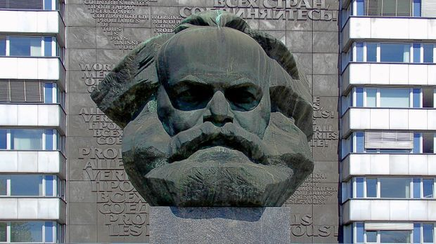 Das Karl-Marx-Monument in Chemnitz