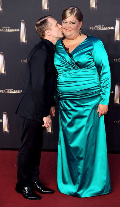 Deutscher-Fernsehpreis-Oliver-Pocher-Cindy-aus-Marzahn-13-10-02-dpa - Bildquelle: dpa