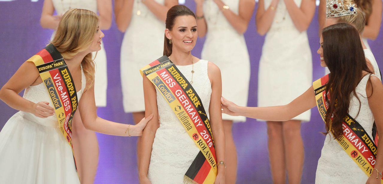 Miss-Germany-Gewinnerin-Top3-dpa - Bildquelle: dpa