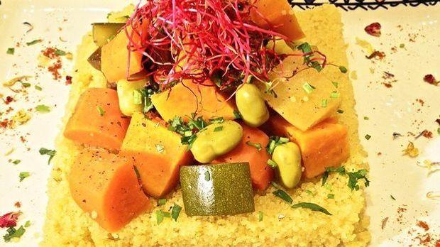 Couscous mit Lamm und Gemüse